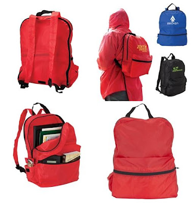 New Product Alert: Rain Jacket with Backpack