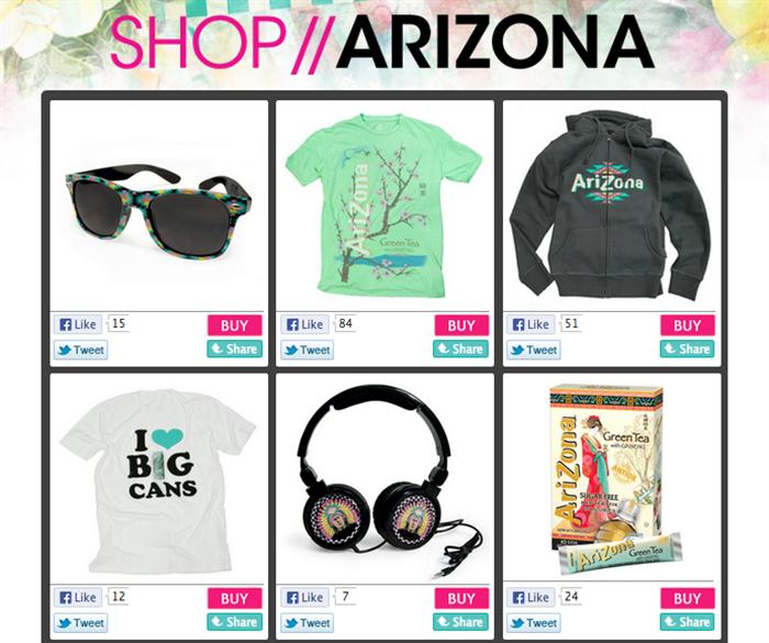arizona iced tea online store