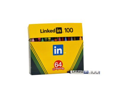 LinkedIn Custom Crayon Box