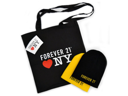 Forever 21 Times Square Store Opening Merchandise