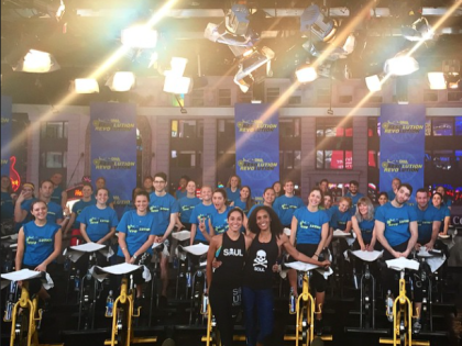 SoulCycle Swag for Good Morning America!