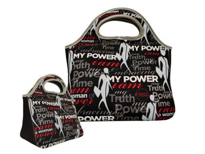 """Black Enterprise """"Women of Power"""" Neoprene Lunch Bag"""