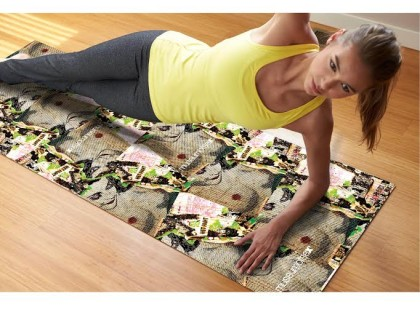 Full Color Yoga Mat For Your Full Body Workout