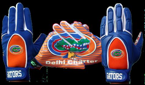 Custom Florida Gators Gloves