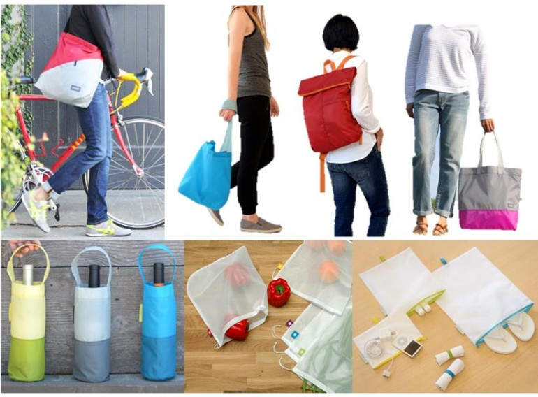 Flip And Tumble Is A Company That Started Making Compact Reusable Lightweight Bags All Made From 100 Recycled Pet Fabric The Are Easy To