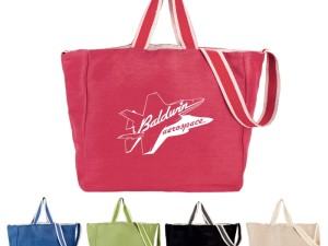Boho-Chic Promotional Bag Gives Your Company a Hip Reputation!