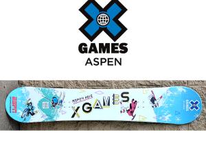 ESPN 2016 X Games: Captiv8 Custom Snowboard!