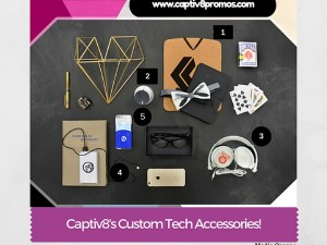 Custom Tech Savvy Promotional Products!