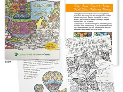 Custom Adult Coloring Book for Fun & Relaxation