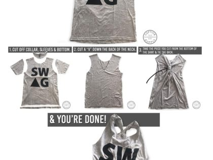 DIY Workout Tee with 3 Easy Steps!