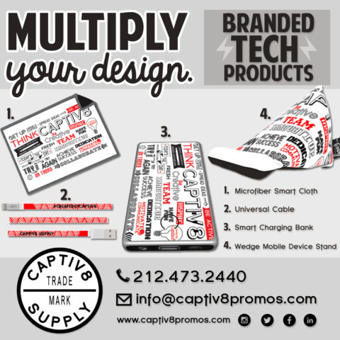 dbb49eb936b2 Branded Tech Products – Multiply Your Design!