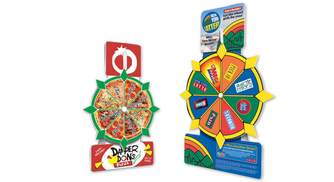 Table Top Spinning Wheel Game! - Captiv8 Promotions