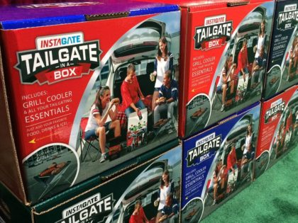 Everything You Need to Tailgate With – in a BOX!