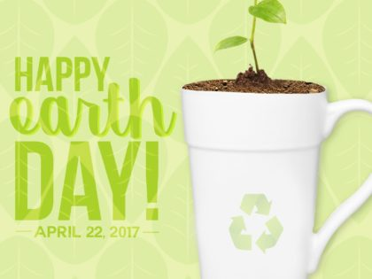 Earth Day 2017 – Custom Reusable Water Bottles!