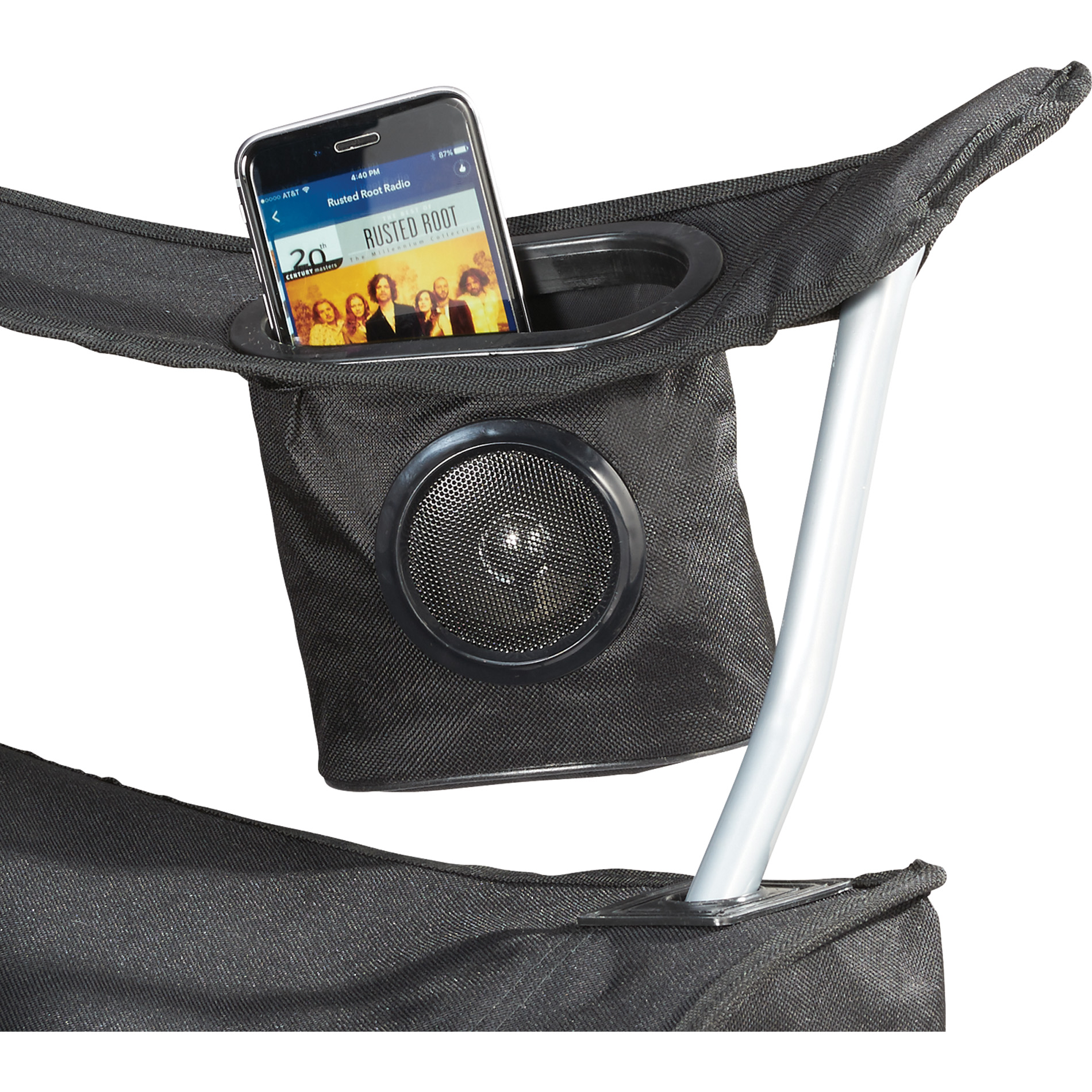 This Folding Chair With An Integrated Speaker Has Got To Be The Best Summer  Gadget! Itu0027s Ideal For Spending The Day On The Sidelines Or By The Grill.