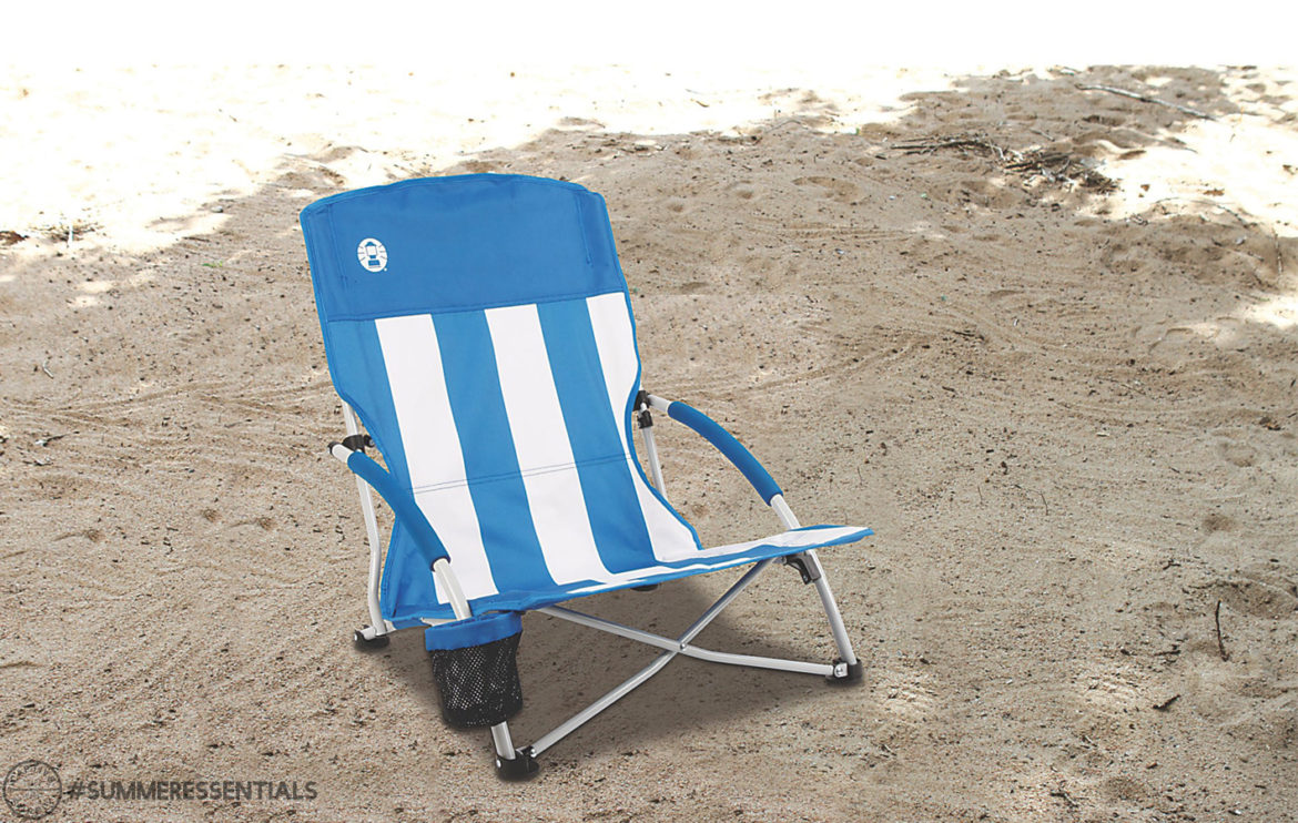 Captiv8 Supply Foldable And Lightweight This Low Slung Beach Chair Is Perfect For Spending A Day In The Sand Rather Than Juggling Bulky Along
