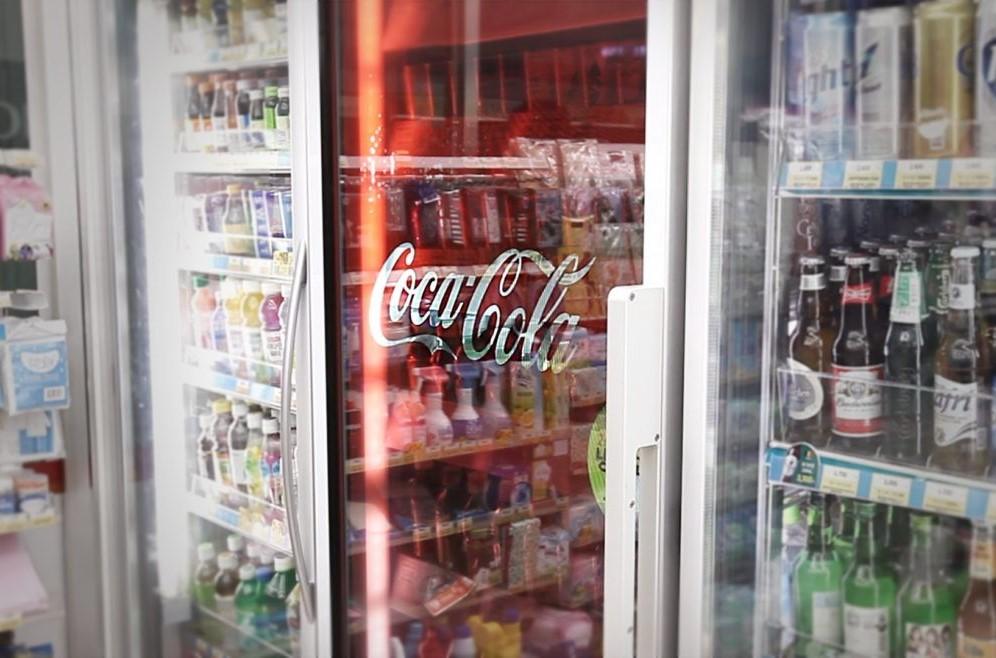mini fridge with custom animated front panel captiv8 promotions