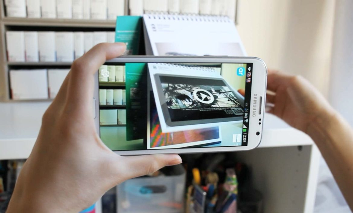 Bring an average calendar to life with augmented reality for Augmented reality