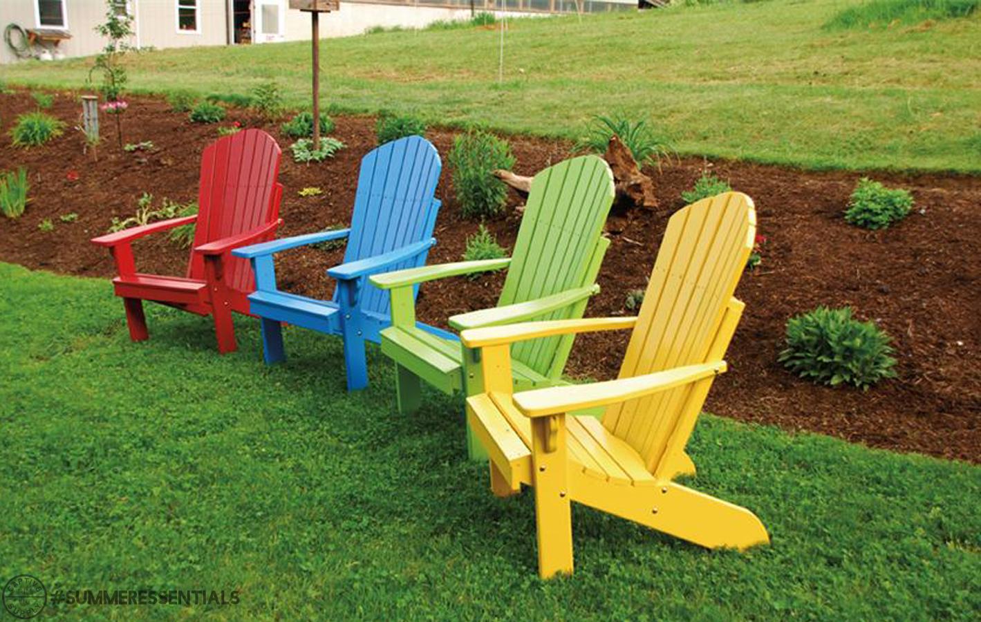 Summeressentials Custom Adirondack Chairs Captiv8