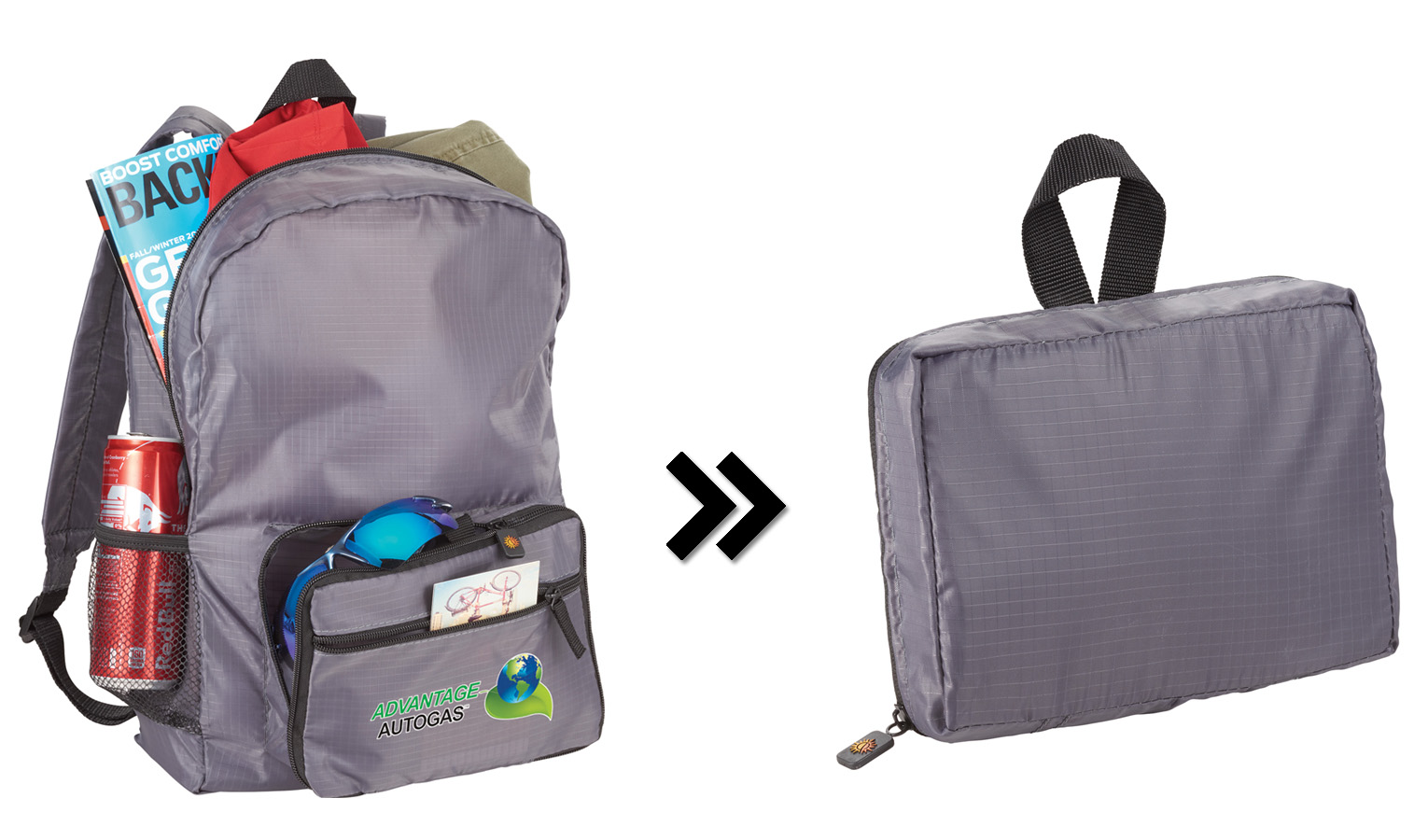 Pack Like A Pro With This Fold Up Backpack Captiv8