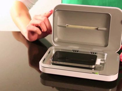Introducing: PhoneSoap – Phone Charger & Cleaner