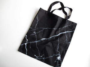 #OnTrend: Marble Printed Tote Bags