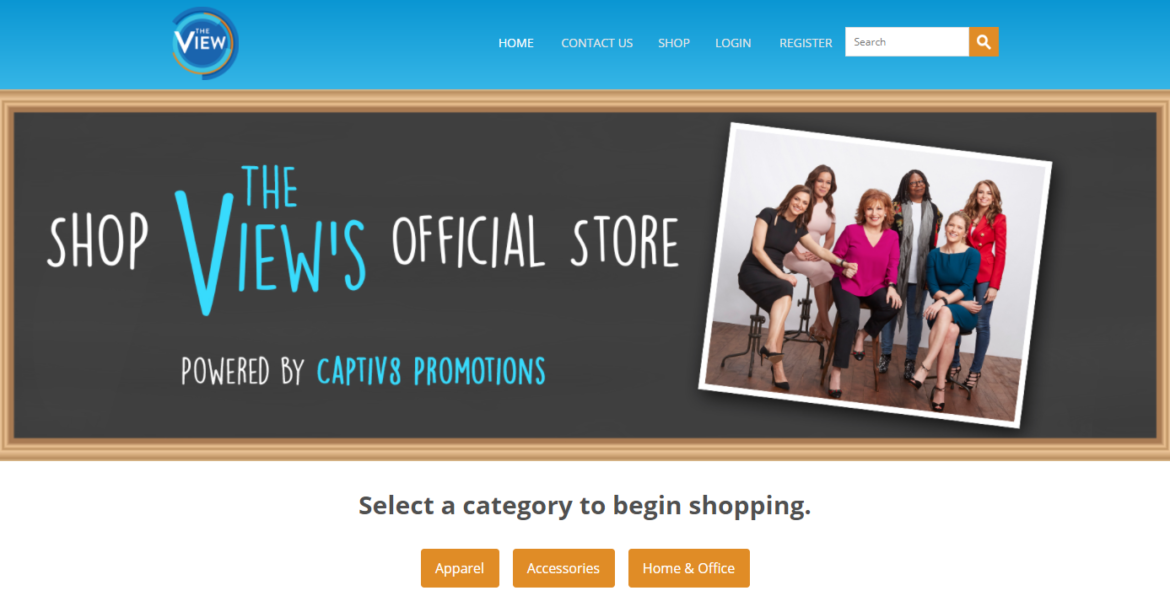 0e6290dd17f Introducing: ABC's The View Official Online Store - Powered By ...