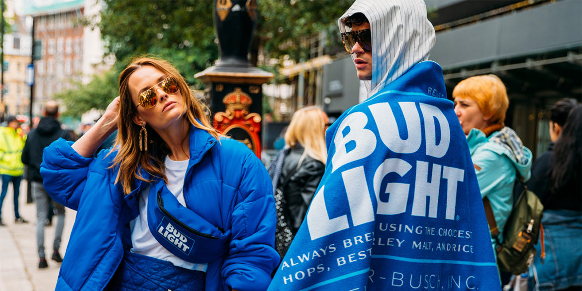 Bud Light Made Its Own Line of Leisurewear, If That's What