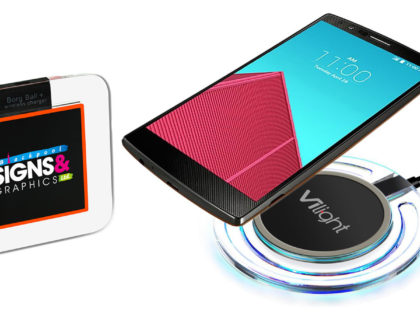 Wireless Charging Pads for the New Qi-Enabled iPhones!