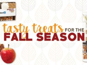 Tasty Treats for the Fall Season!
