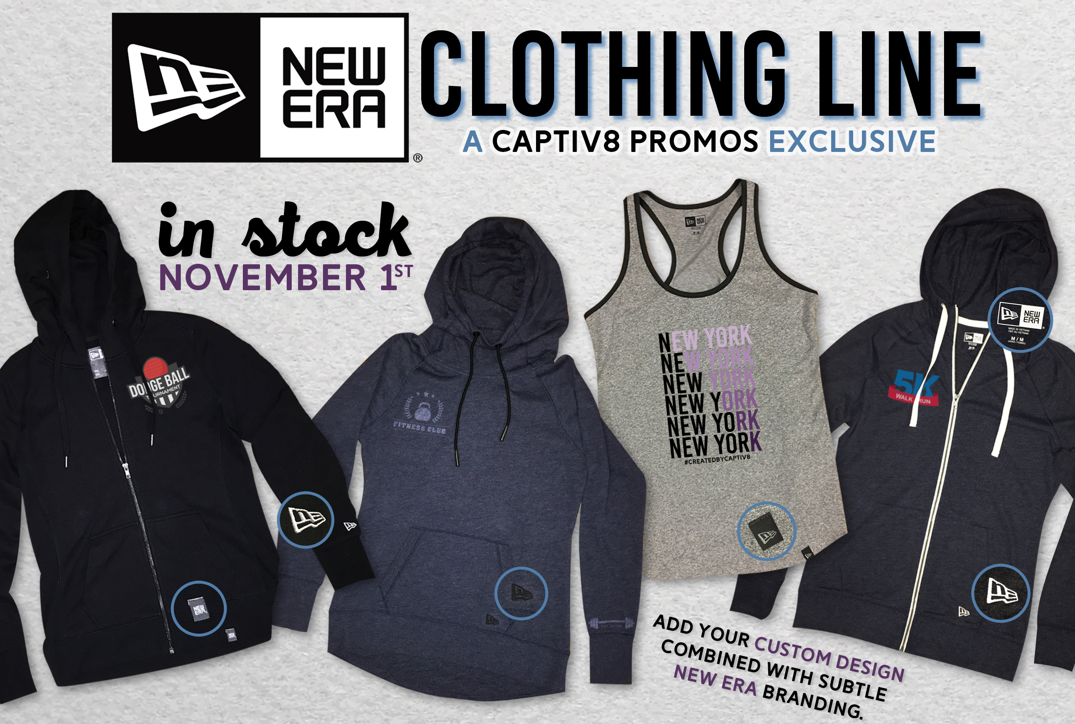 New Era Clothing Line - A Captiv8 *Exclusive* Coming Soon
