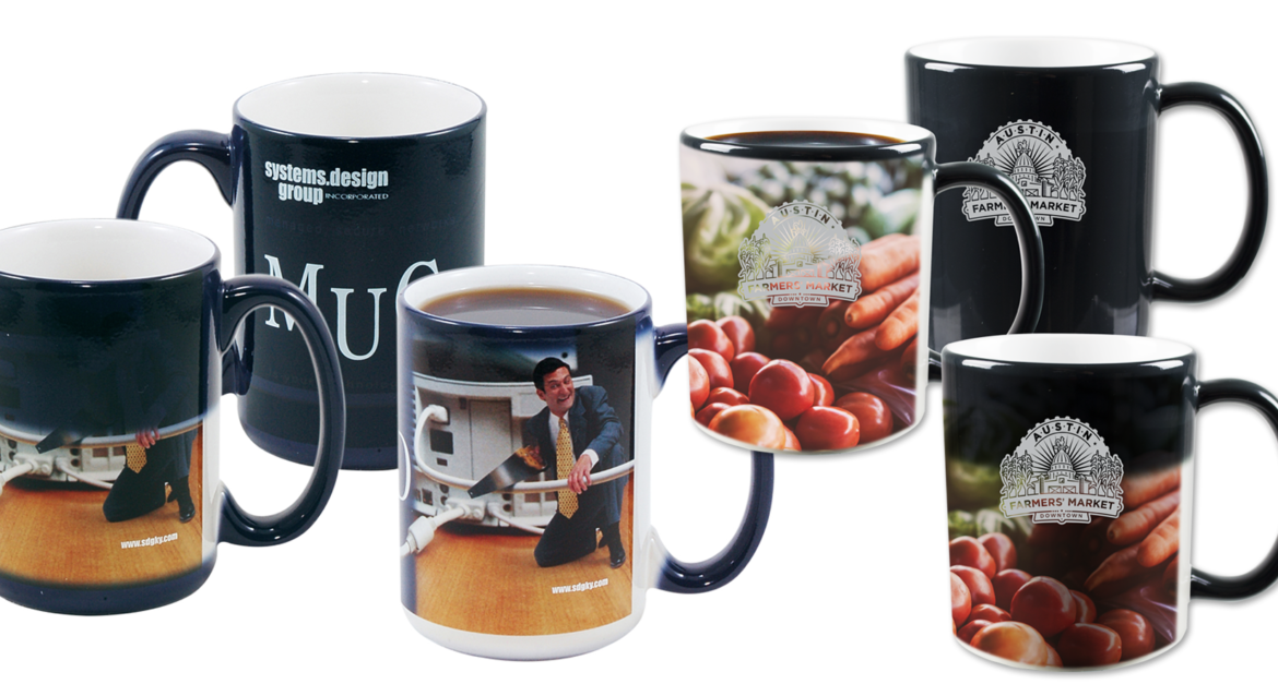 Just Mugs Changing Color Promotions HeatCaptiv8 Add 0knPwO