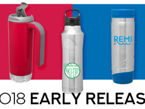 *2018 Early Release* – Brand New Drinkware!