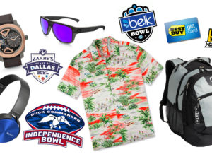 Fidget Spinners, Speakers and Watches, Oh My: NCAA Bowl Game Gifts Revealed