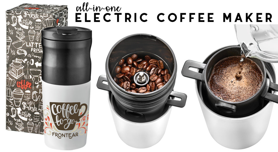 Captiv8 Supply With This Portable Innovative Coffee Maker You Can Truly Enjoy Your Anytime Anywhere Grinder A Ful Electric