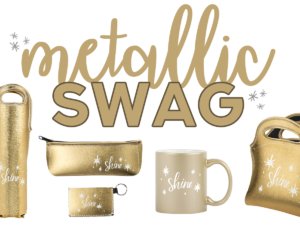 Shine Bright with Brand New Gold *Metallic* Swag!