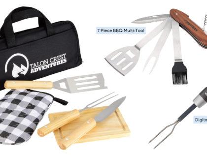 Custom BBQ Tools & Gift Set