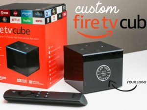 Amazon Fire TV Cube with Your Custom Logo!
