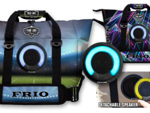 Frio Cooler Bag with Detachable LED Bluetooth Speaker
