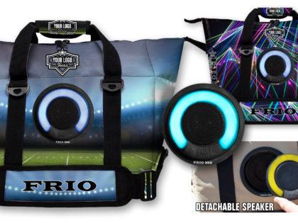 Frio Cooler Bag with Detachable LED Bluetooth Speaker