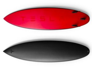 Tesla is selling $1,500 surfboards now, but they sold out instantly