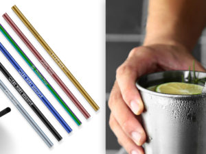 Laser Engraved Stainless Steel Straws