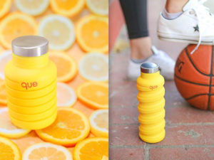 Introducing: The que Bottle – Collapsible Water Bottles!