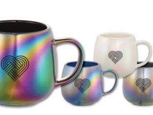 Iridescent Ceramic Mugs