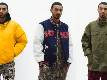Supreme's Fall Collection Spotlights Some Major Apparel Trends
