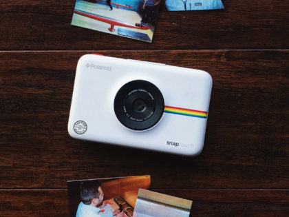 Custom Polaroid Snap Touch Camera