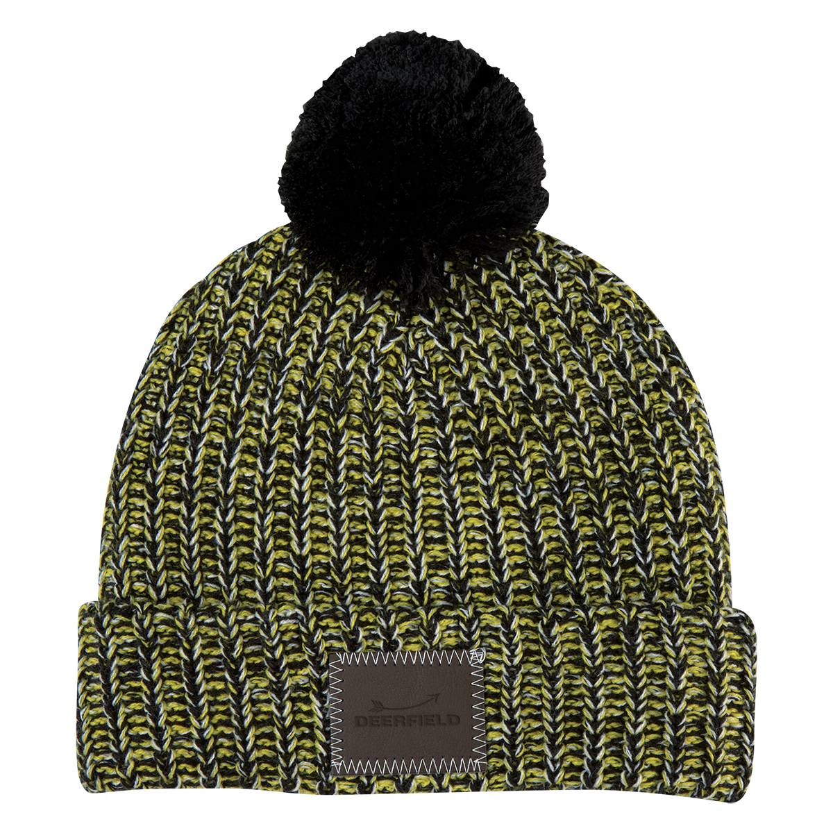 9ae7ff42e7f Pom Beanie with Cuff. These 100% acrylic pom beanies come in 8 different  colors