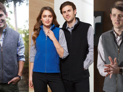 How the Fleece Vest Became the New Corporate Uniform