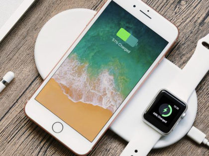 The Odyssey – 2-in-1 Phone & Apple Watch Wireless Charger