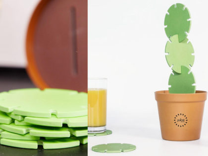 Branded Cactus Coaster Construction Set